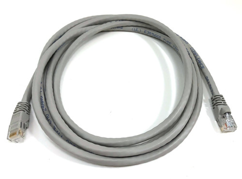 7ft Cat6 Molded Snagless RJ45 UTP Networking Patch Cable (Gray)