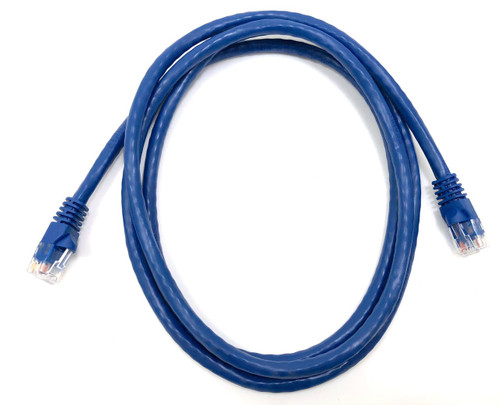 Category 6 UTP RJ45 Patch Cable Blue - 5 ft