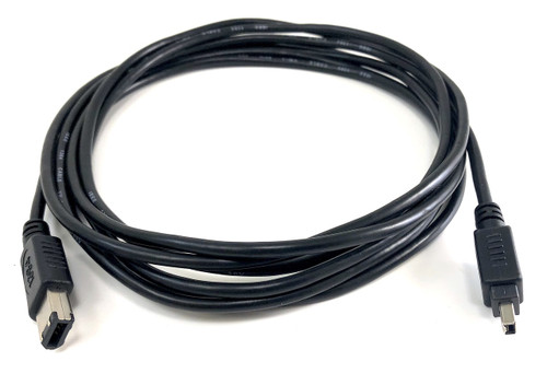 10ft FireWire (IEEE 1394) 6P/4P Cable