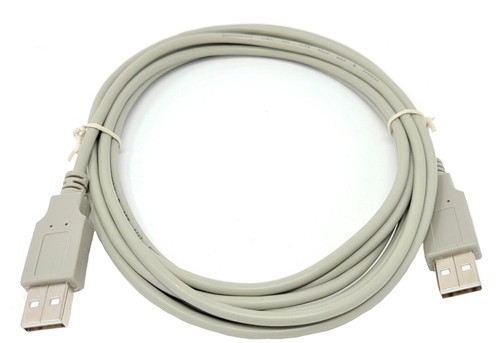 10ft USB 2.0 USB-A M/M Cable (Beige)