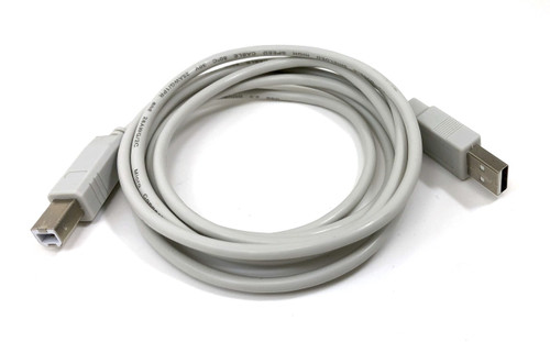 USB 2.0 A to B Type Cable - Beige - 6ft