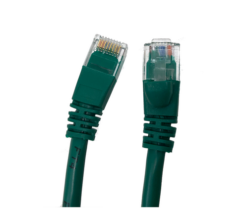 Category 5E UTP RJ45 Patch Cable Green - 100 ft