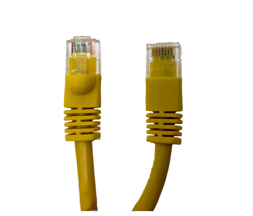 Category 5E UTP RJ45 Patch Cable Yellow - 50 ft