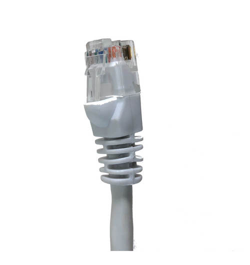 Category 5E UTP RJ45 Patch Cable White - 50 ft