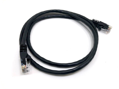 Category 5E UTP RJ45 Patch Cable Black - 3 ft