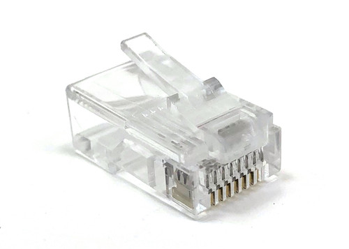Cat5E RJ45 Modular Connectors (100 Pack)