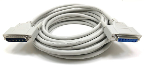 25ft Serial Bidirectional Cable (DB25 M/F)