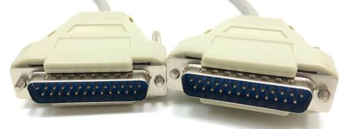 Bi Directional Serial Cable 25C (DB25M/M) - 25ft