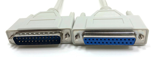 Serial Cable Bi Directional 25C (DB25M/F) - 6ft