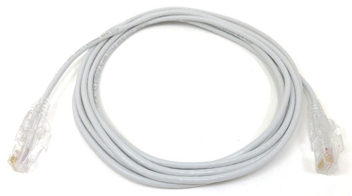 Ultra Slim CAT 6 Patch Cable (28AWG) White - 10 ft