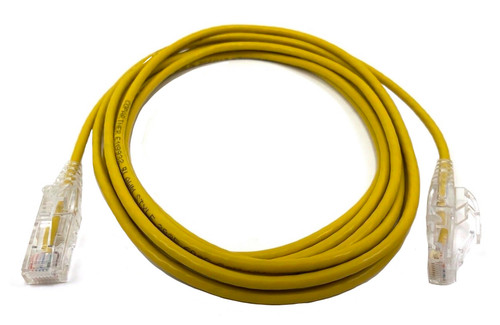 10ft Ultra Slim Cat6 Patch Cable (Yellow)