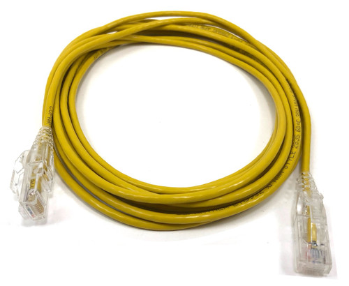 14ft Ultra Slim Cat6 Patch Cable (Yellow)