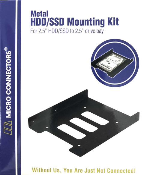"2.5"" Metal HDD/SSD Mounting Bracket Kit"