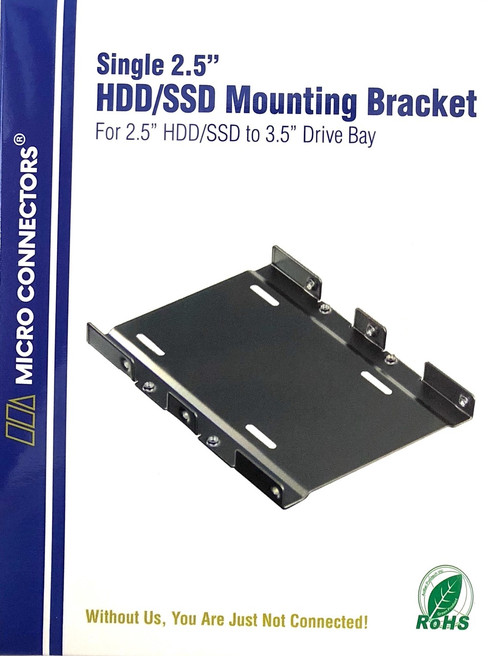 "Single 2.5"" Metal HDD/SSD Mounting Bracket Kit (L02-35125)"
