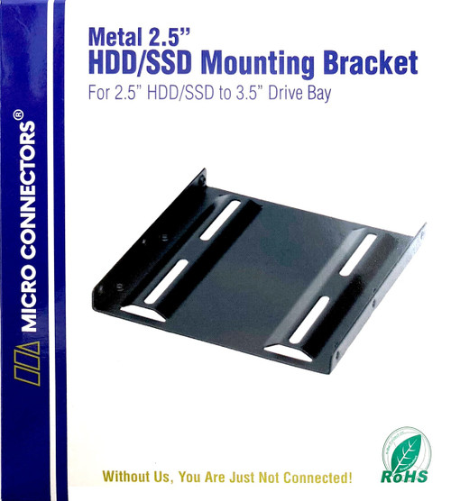 "Single 2.5"" Metal HDD/SSD Mounting Bracket Kit (L02-35250B)"