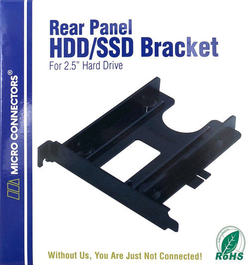 "Rear Panel 2.5"" Plastic HDD/SSD Mounting Bracket Kit (L02-100)"