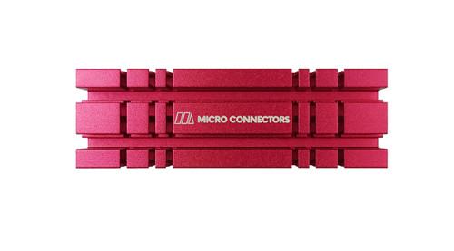 M.2 2280 SSD Heat Sink Kit (Red)