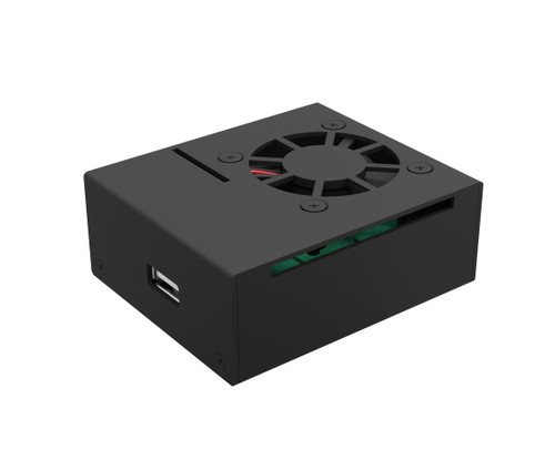 Aluminum Raspberry Pi 3 Model A+ Case with Fan