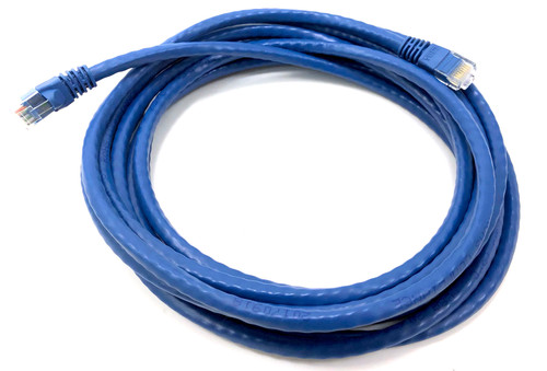 14ft Cat6 Molded Snagless RJ45 UTP Networking Patch Cable - Blue (10 Pack)