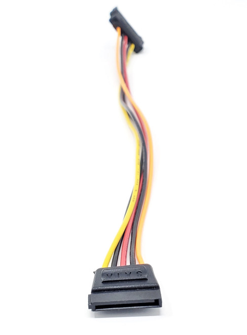 "12"" 15-pin SATA Male to Female Power Extension Cable"