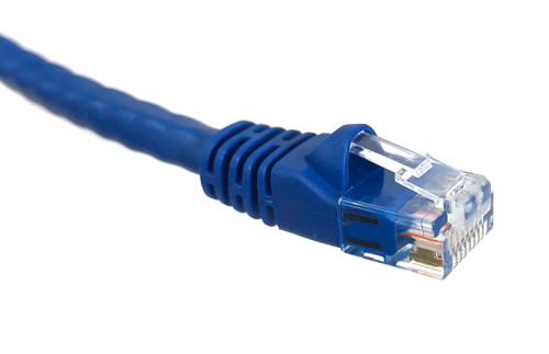75 ft Category 6 UTP RJ45 Patch Cable Blue