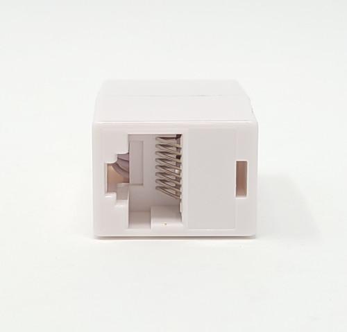 Cat5e  Ethernet Coupler UL Listed  White 5-Pack