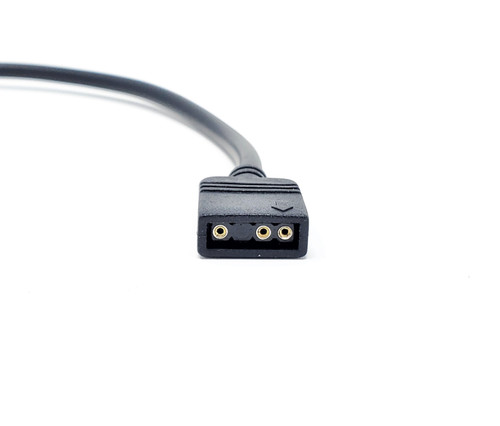 50cm Addressable RGB Extension Cable with Male Pins / 2-Pack