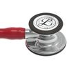 Littmann Cardiology IV Stethoscope, Mirror Burgundy, 6170