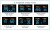 ADC 2100 DIAGNOSTIX Digital Fingertip Pulse Oximeter