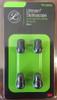 Littmann Stethoscope Eartip Kit, Large and Small, Black, 40001