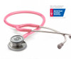 ADC Adscope 608 Convertible Clinician Stethoscope, Breast Cancer Awareness, 608PBCA