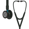 Littmann Cardiology IV Stethoscope, Black Blue, 6201
