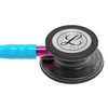 Littmann Classic III Stethoscope, Smoke Turquoise Pink, 5872