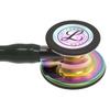 Littmann Cardiology IV Stethoscope, Rainbow Black Black, 6240