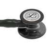 Littmann Cardiology IV Stethoscope, Smoke Black Black, 6232