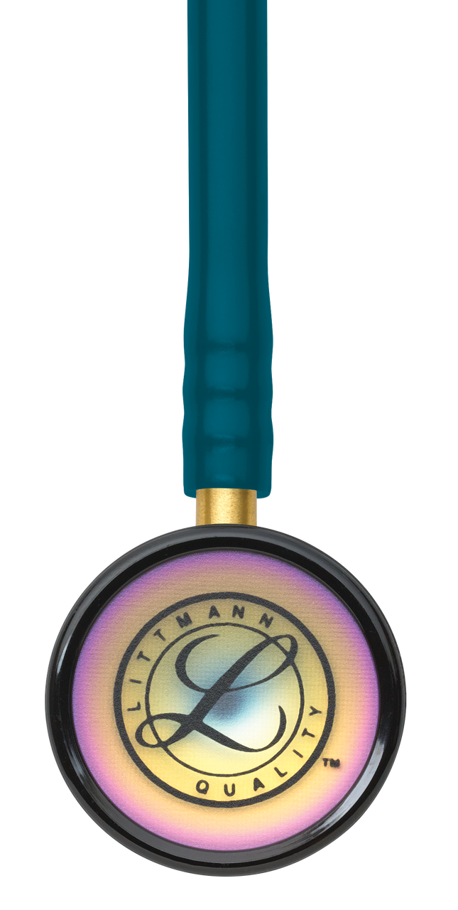 Littmann Classic II Pediatric Stethoscope, Rainbow Caribbean, 2153