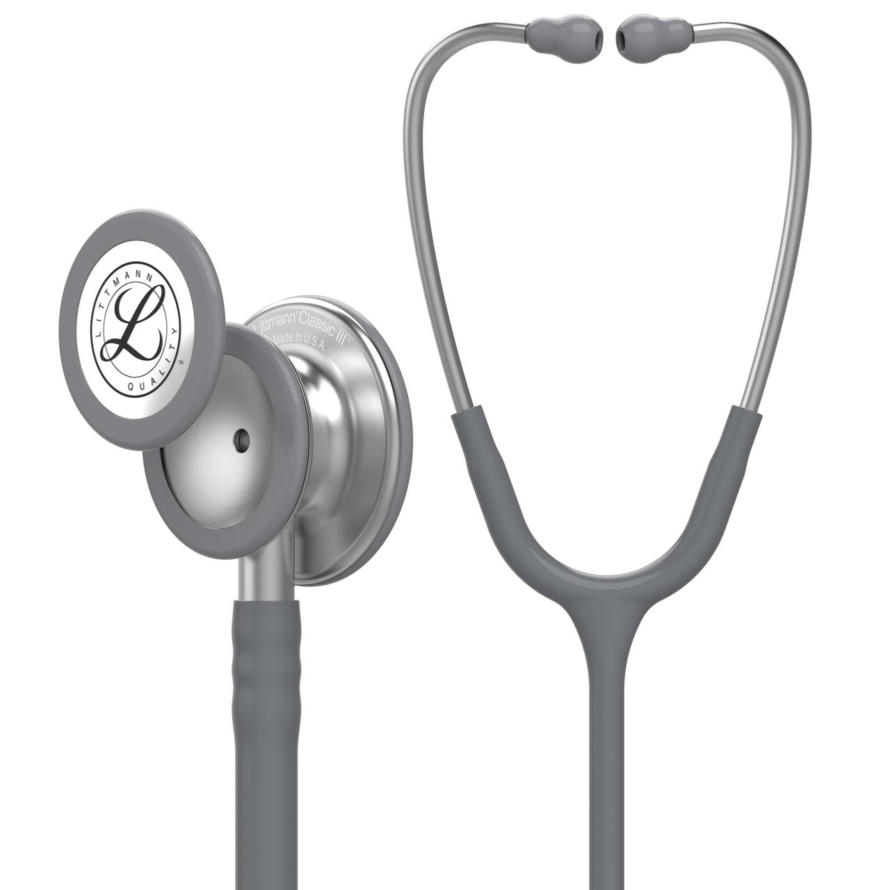 Littmann Classic III Stethoscope, Gray, 5621