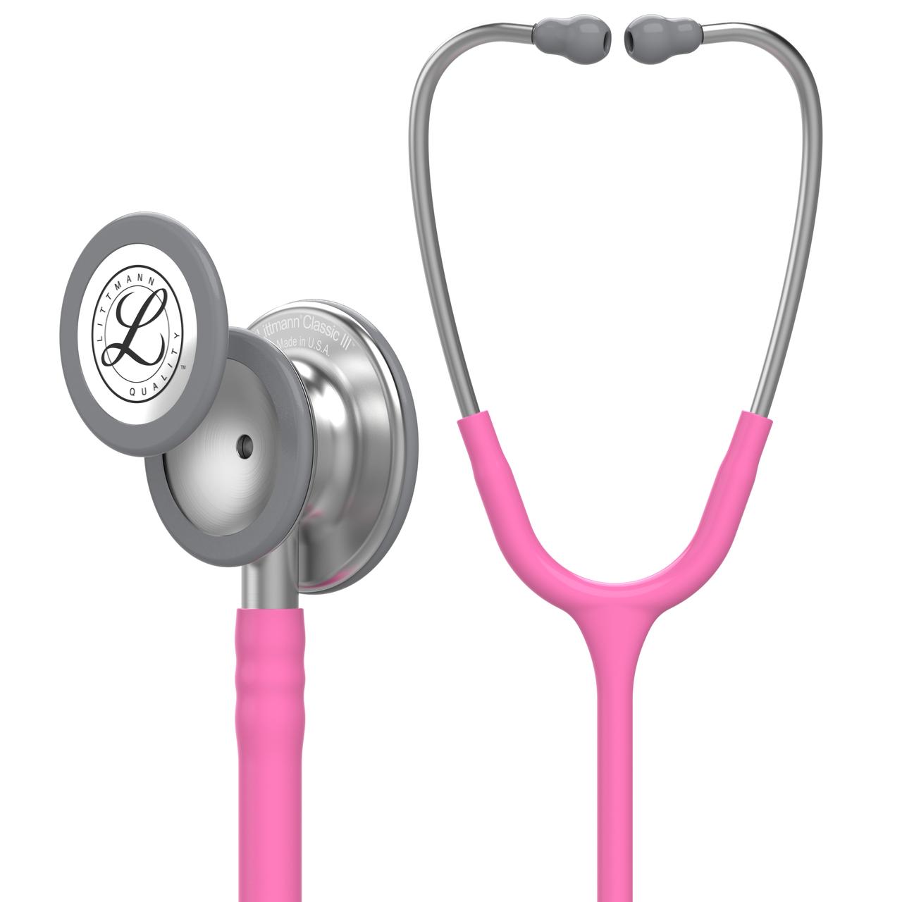 Littmann Classic III Stethoscope, Breast Cancer Edition Rose Pink, 5631