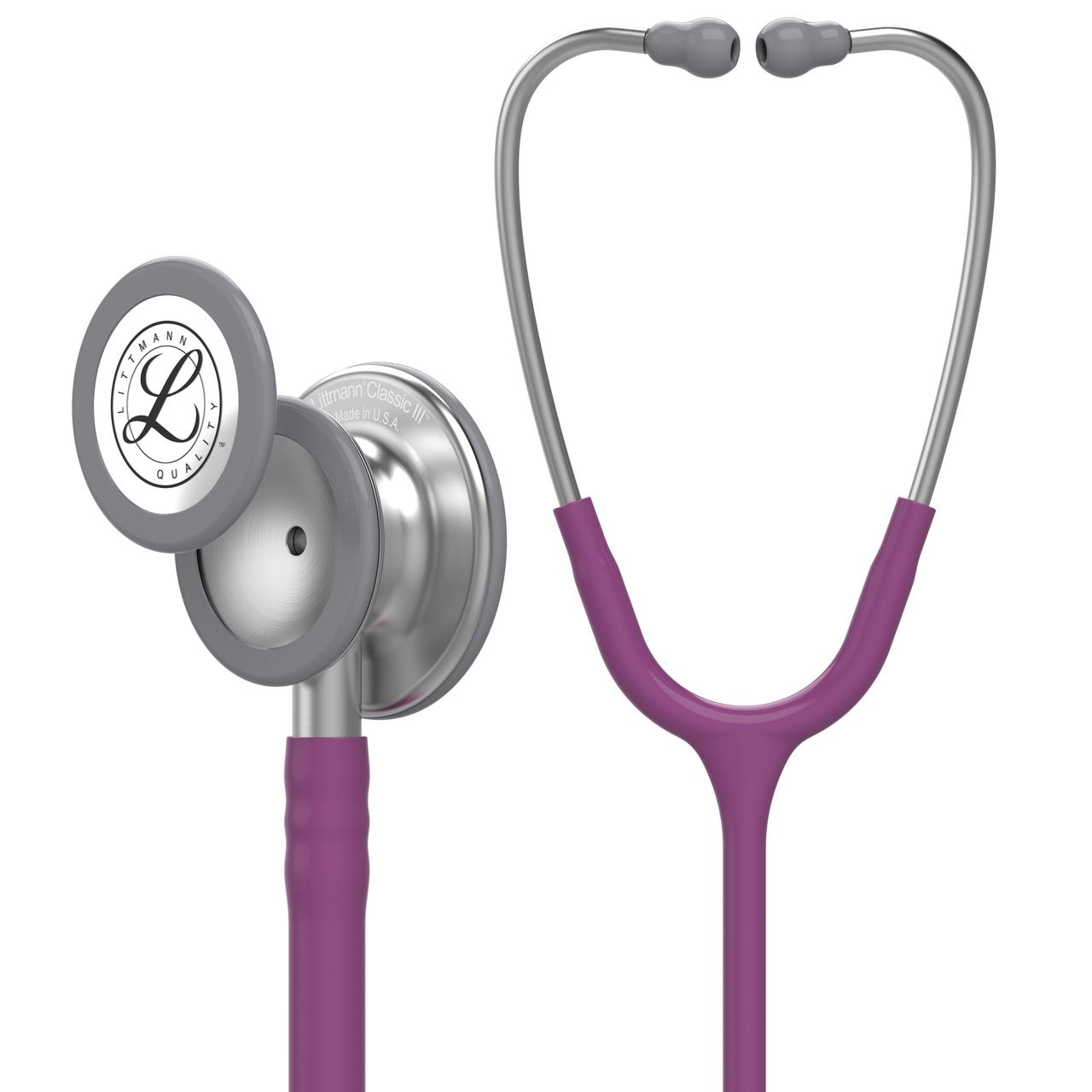 Littmann Classic III Stethoscope, Plum, 5831