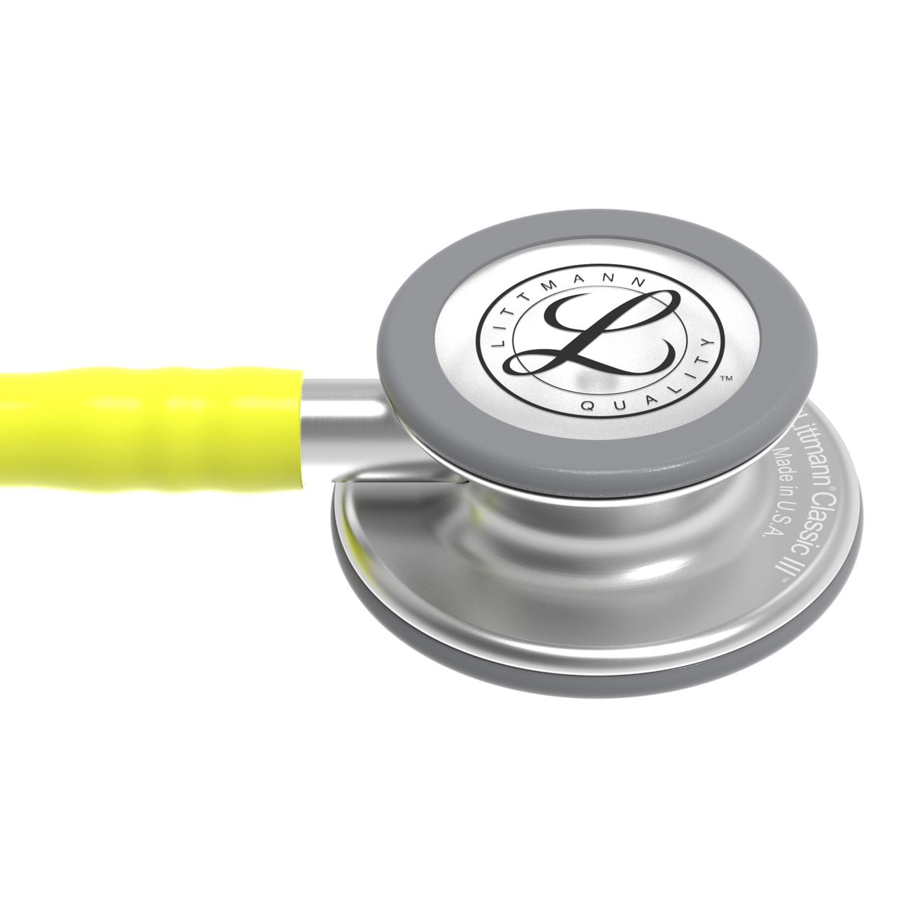 Littmann Classic III Stethoscope, Lemon-Lime, 5839