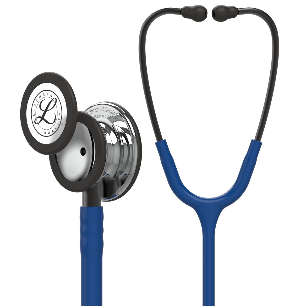 Littmann Classic III Stethoscope, Mirror Navy, 5863