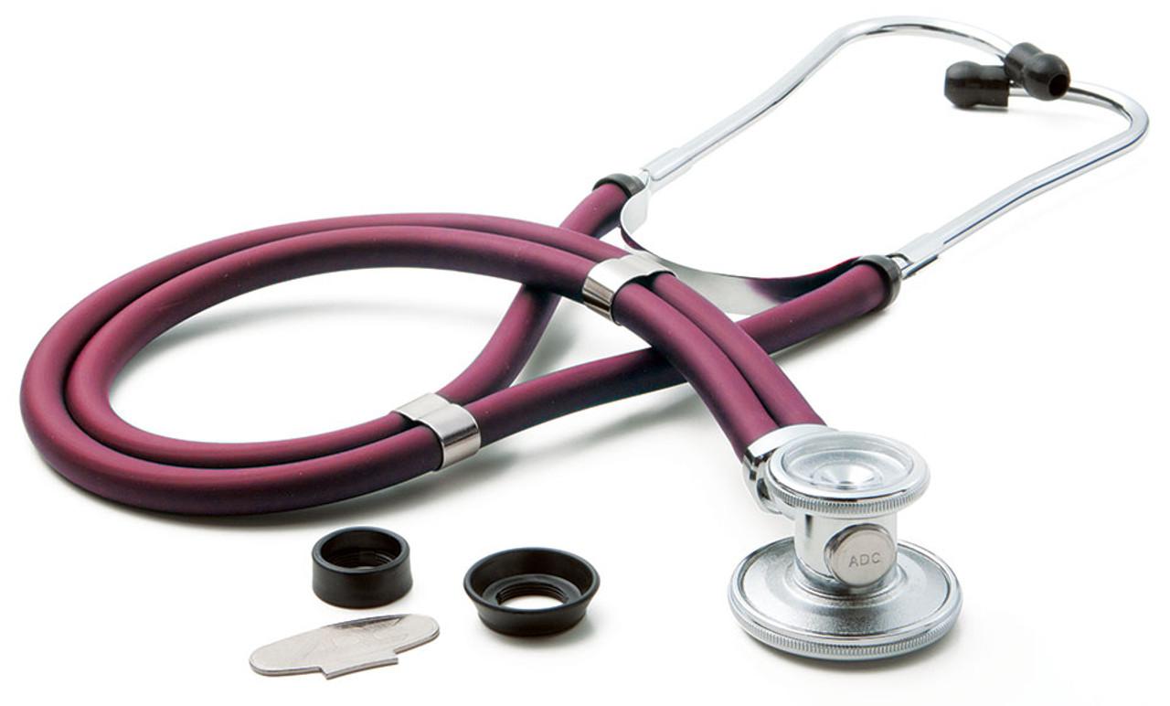 ADC 641 Sprague Rappaport Stethoscope, Magenta, 641M