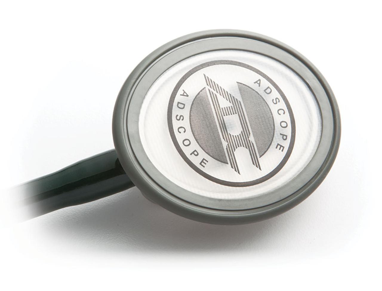 ADC 600 Single Head Advanced Diagnostic Stethoscope, Dark Green, 600DG