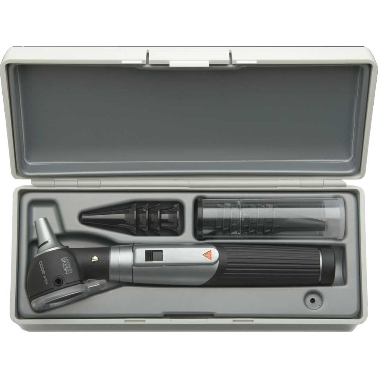 HEINE mini 3000 F.O. Fiber Optic Otoscope Set (D-851.10.021)