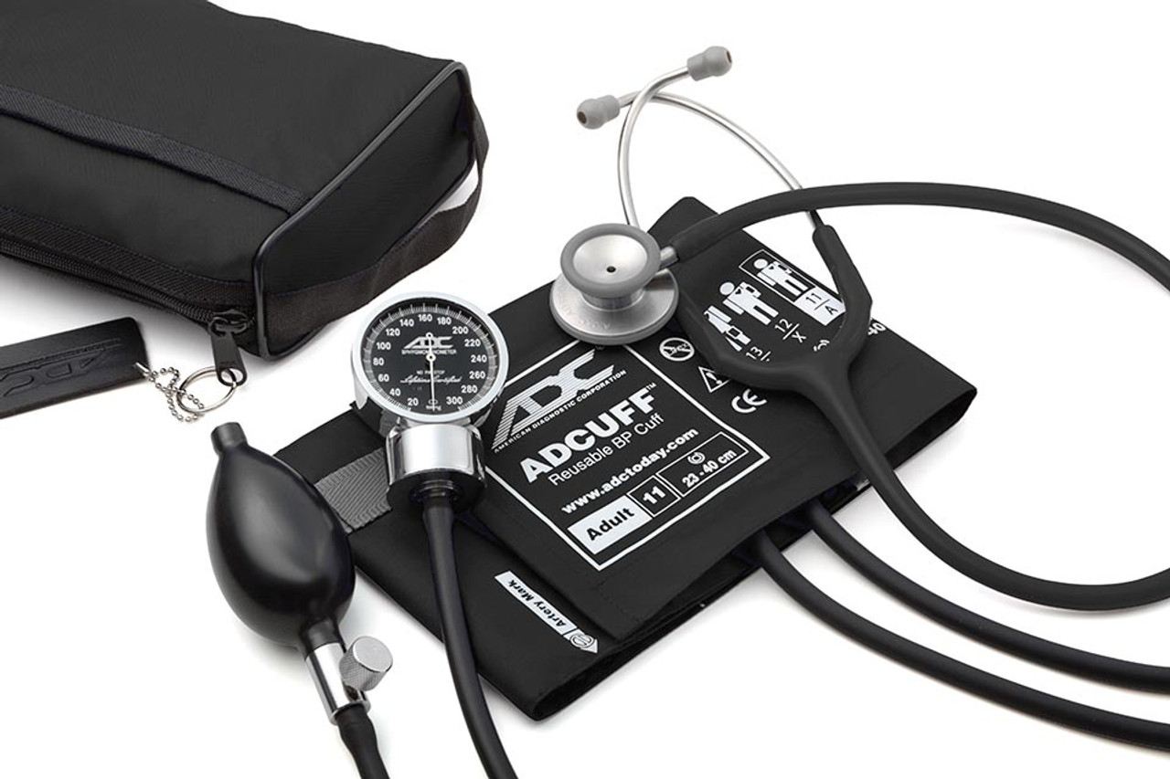 ADC Pro's Combo III Pocket Aneroid Kit Black