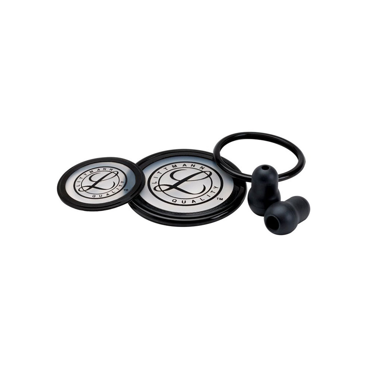 Littmann Stethoscope Spare Parts Kit, Cardiology III, Black, 40003