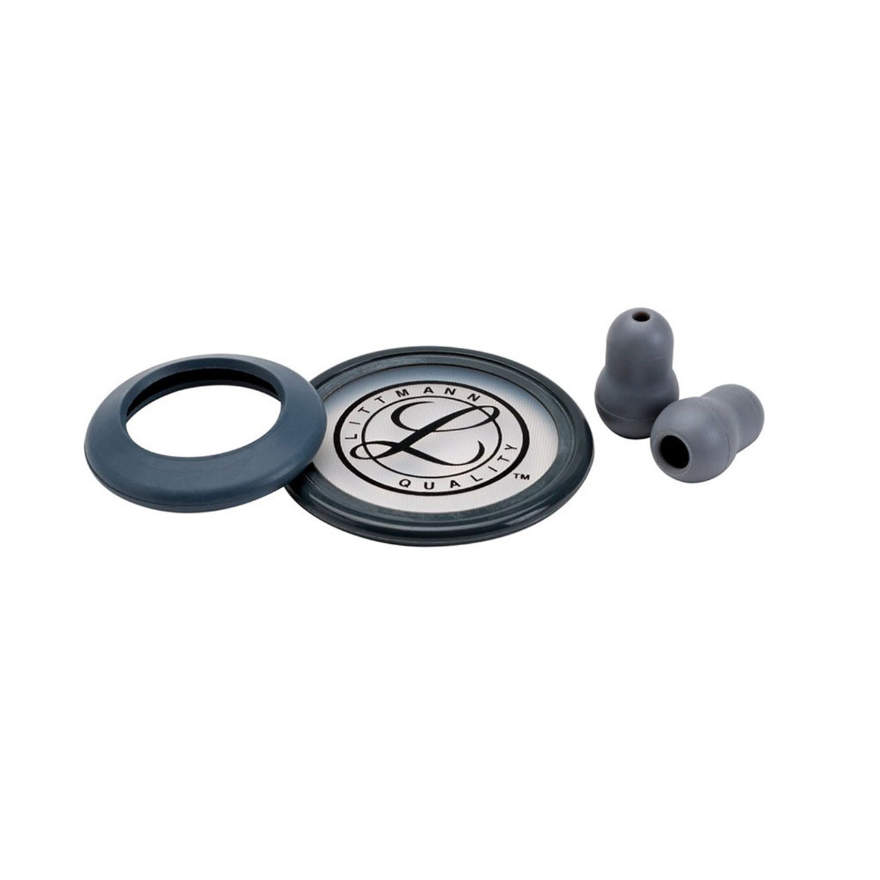 Littmann Stethoscope Spare Parts Kit, Classic II SE, Gray, 40006