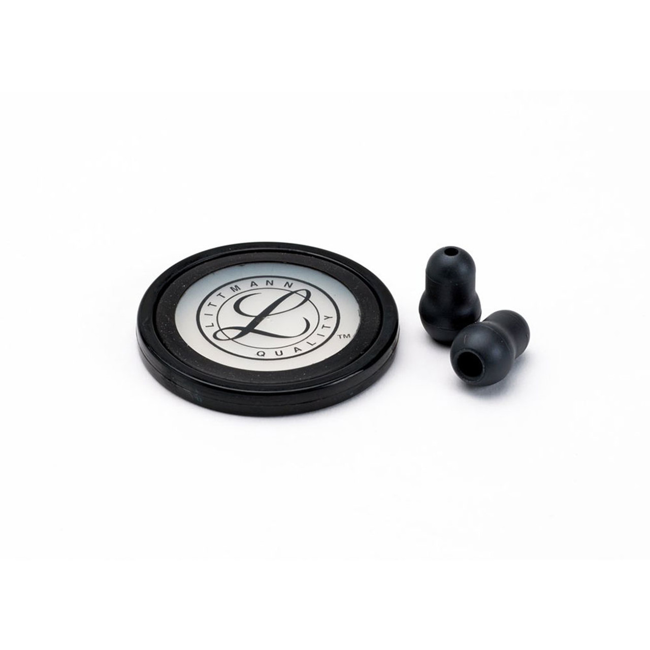 Littmann Stethoscope Spare Parts Kit, Master Cardiology, Black, 40011