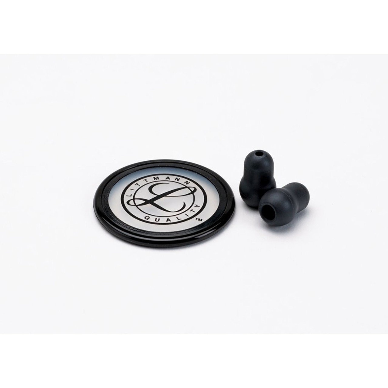 Littmann Stethoscope Spare Parts Kit, Master Classic, Black, 40022