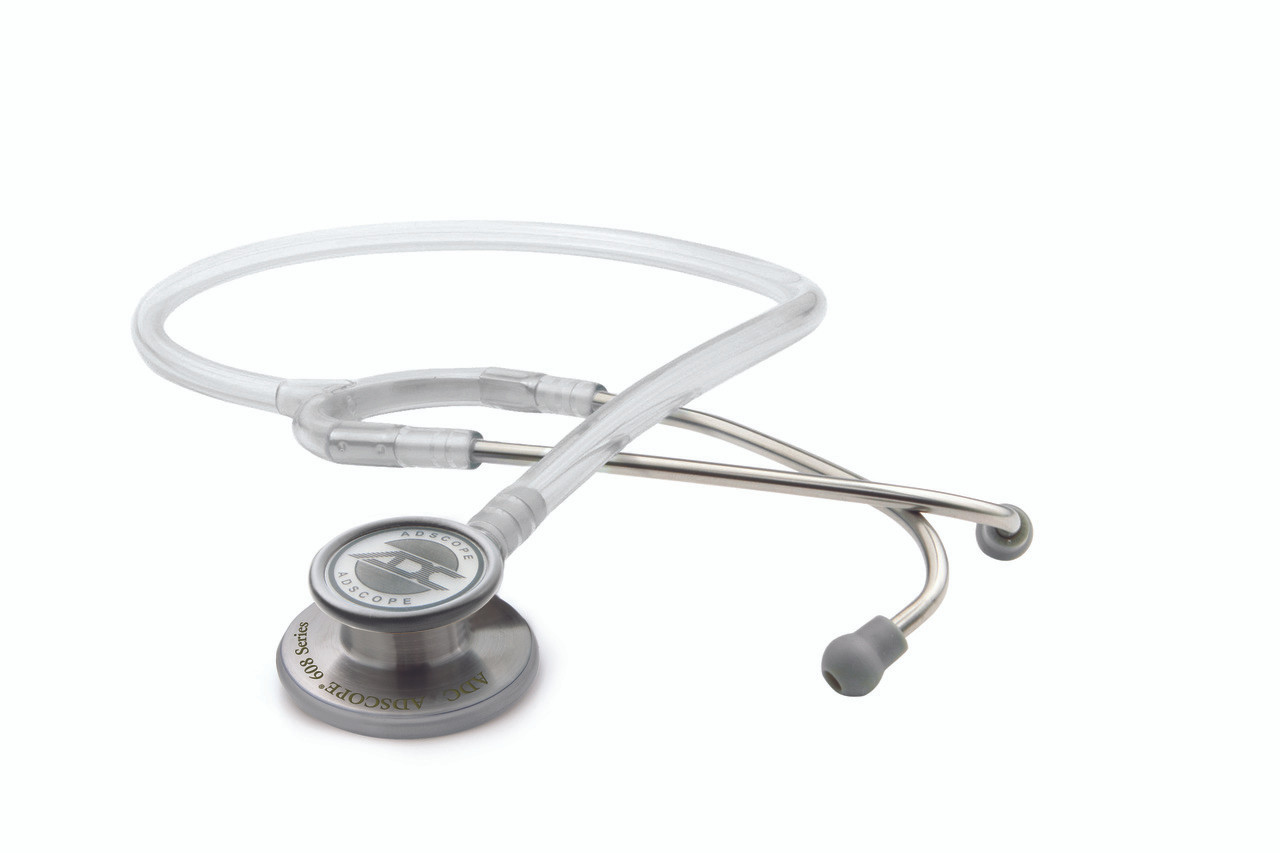 ADC Adscope 608 Convertible Clinician Stethoscope, Frosted Glacier, 608FG